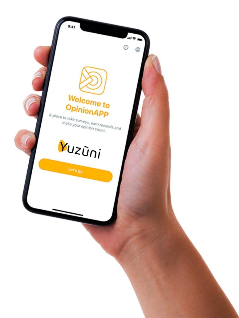 Yuzūni - práctica aplicación para encuestas pagadas
